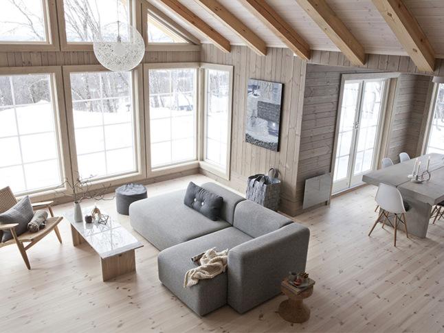 casa de madera nordica