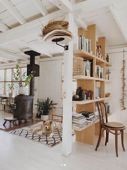 casa de madera pintada