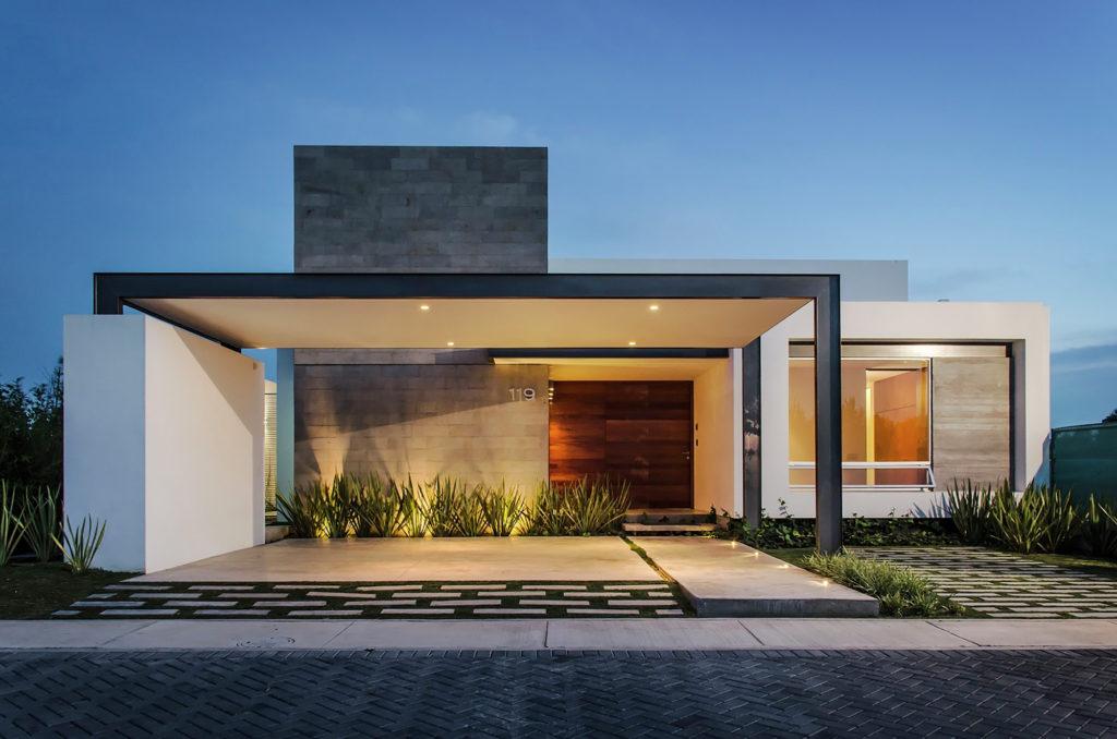 Casas estilo moderno