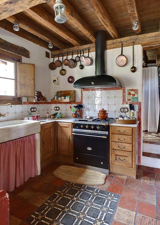 casas de campo cocina