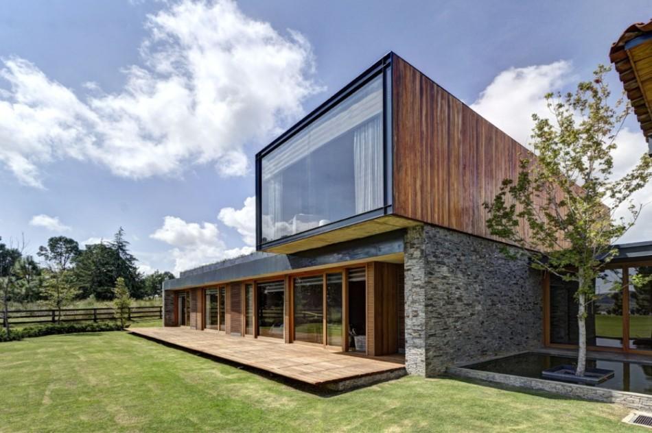 casas de campo moderna