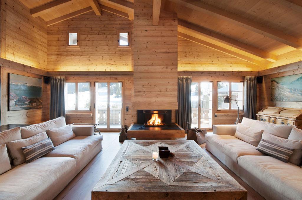 casas de madera grandes