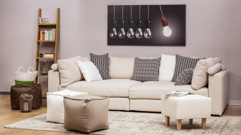 decorar sofas