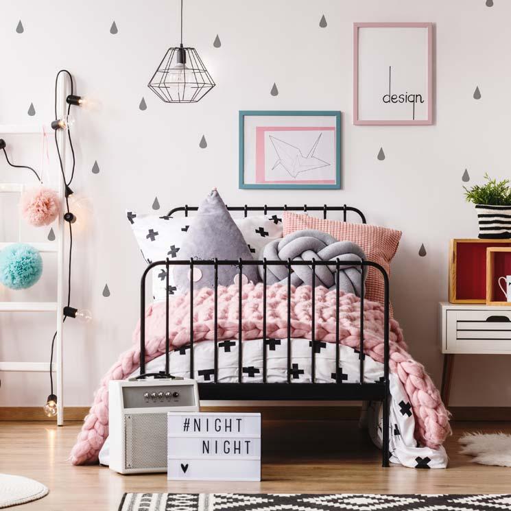 dormitorio infantil vintaje