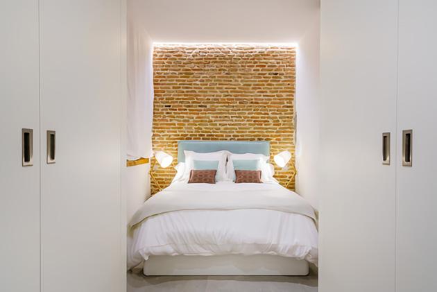 dormitorio matrimonio pequeño