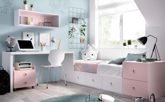 dormitorios juveniles mujer