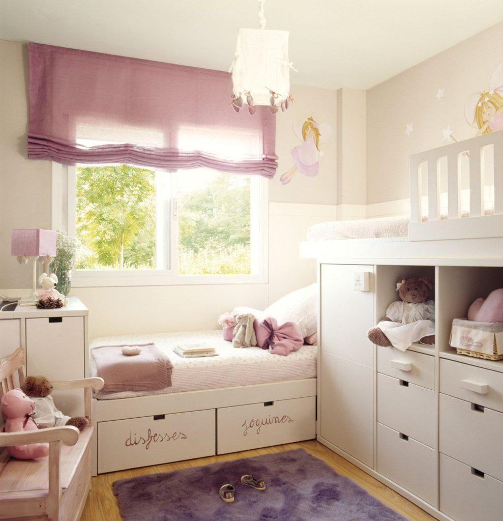 habitación infantil dos camas