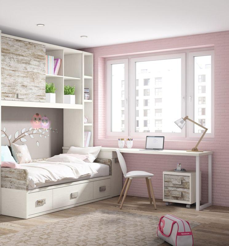 habitaciones juveniles niña
