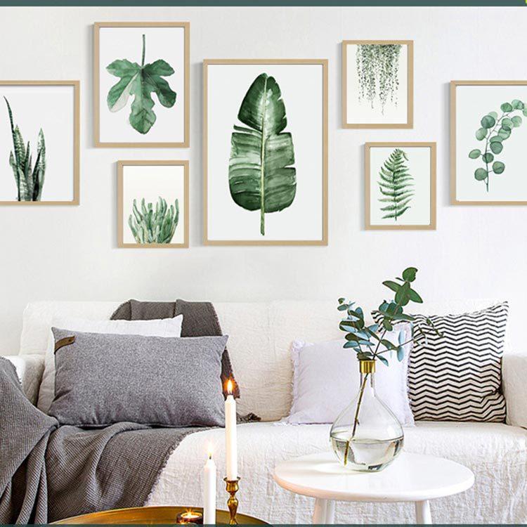 marco de fotos floral