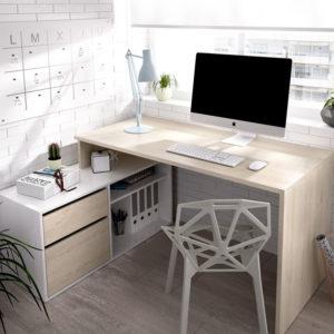 mesa escritorio en L