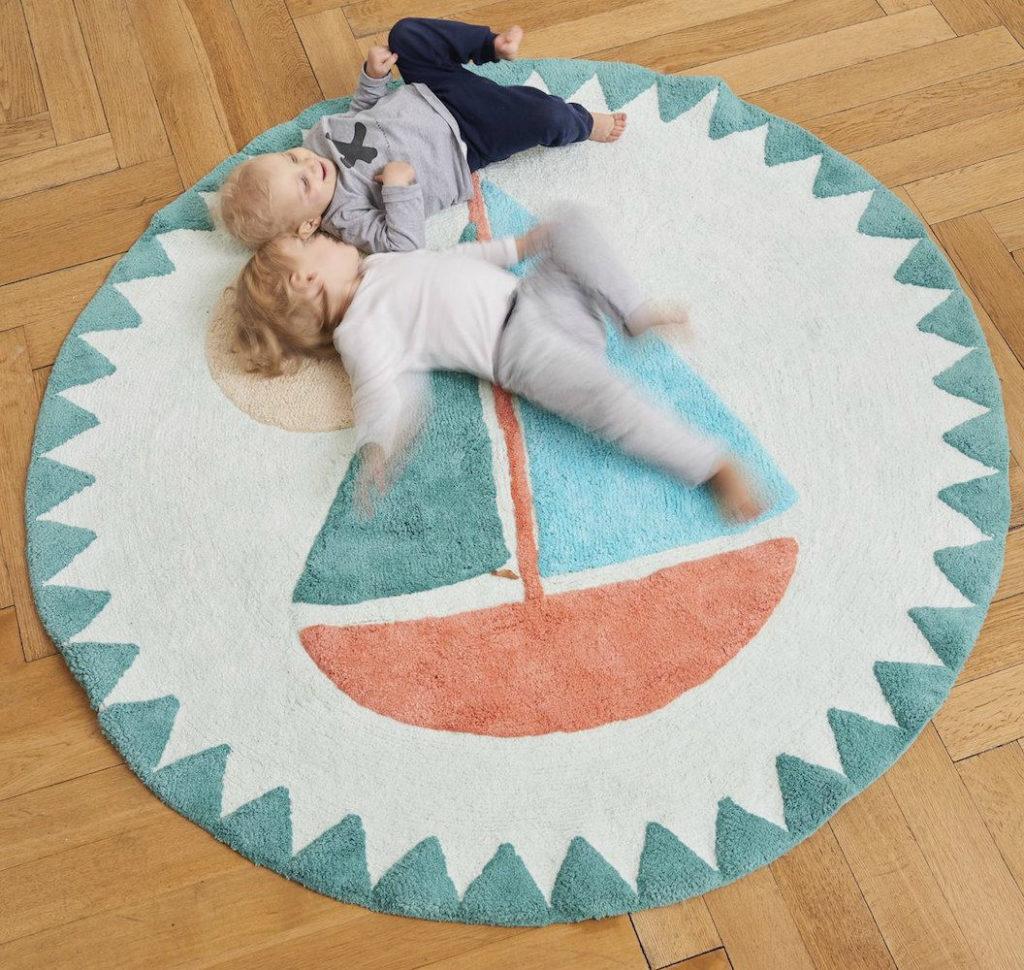 alfombras infantils redondas