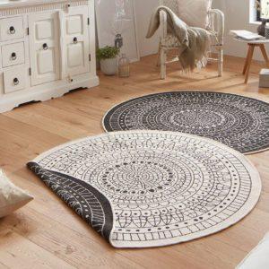 alfombra redonda