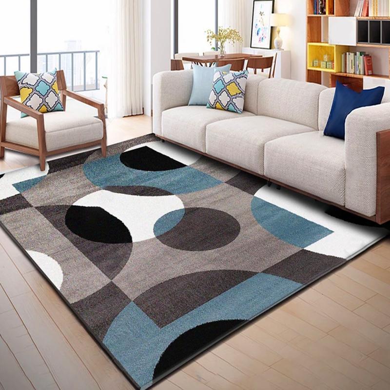 alfombras salón moderna
