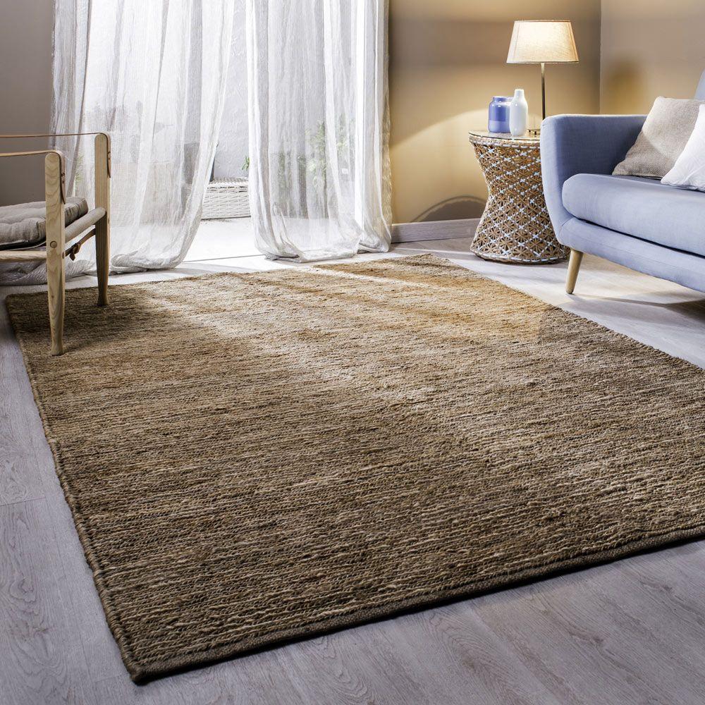 alfombra de yute grande